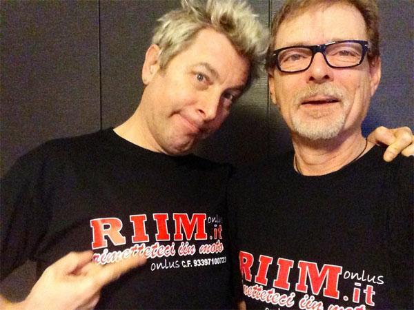 DJ Ringo e Di Pillo sostengono RIIM