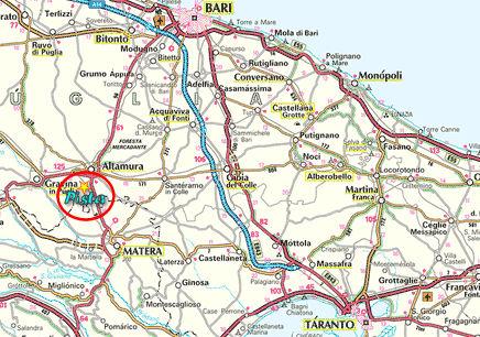 Cartina Puglia Altamura.Pista Altamura